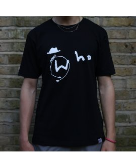 Who T-Shirt/ Black