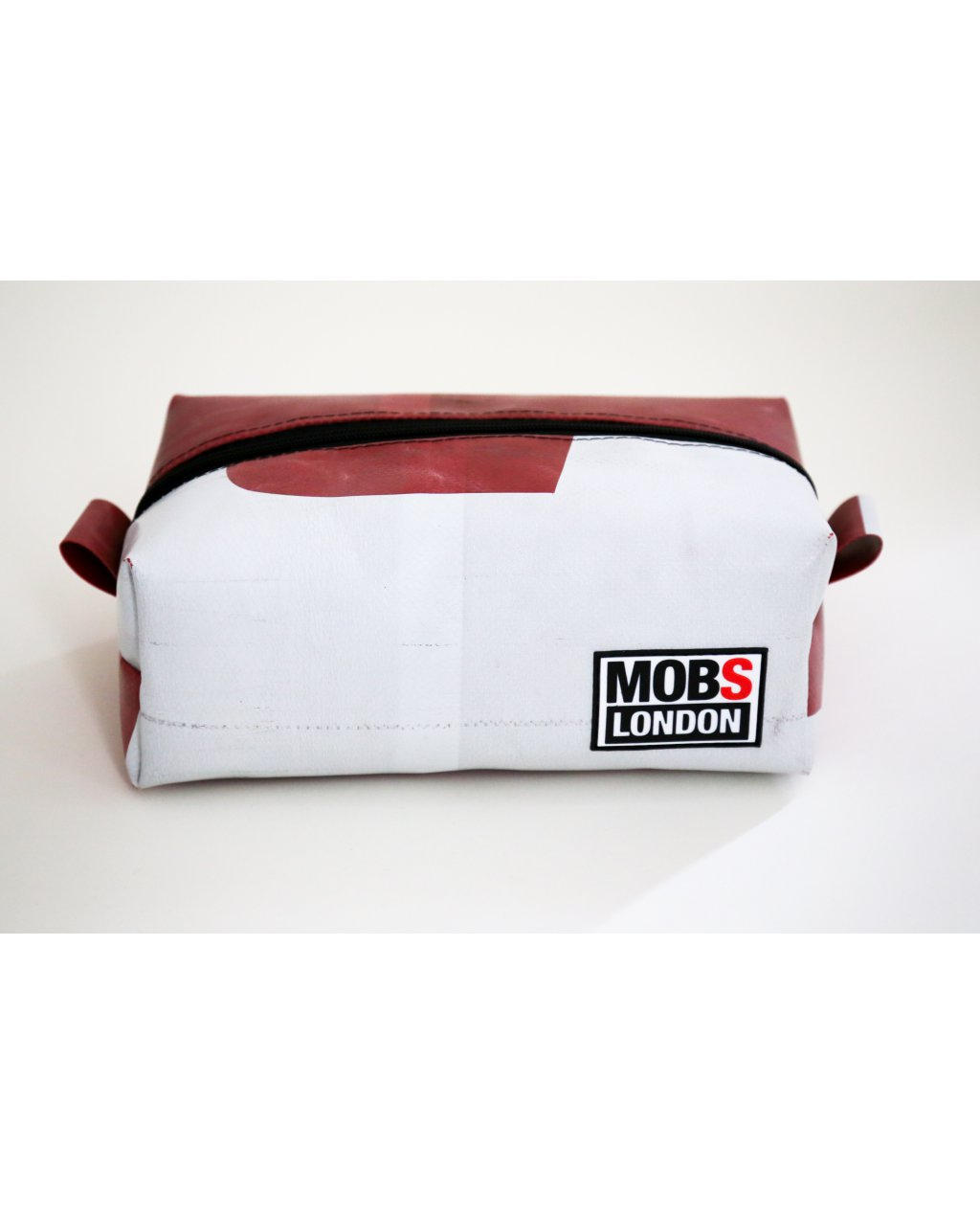 White and Red Truck Tarpaulin Washbag