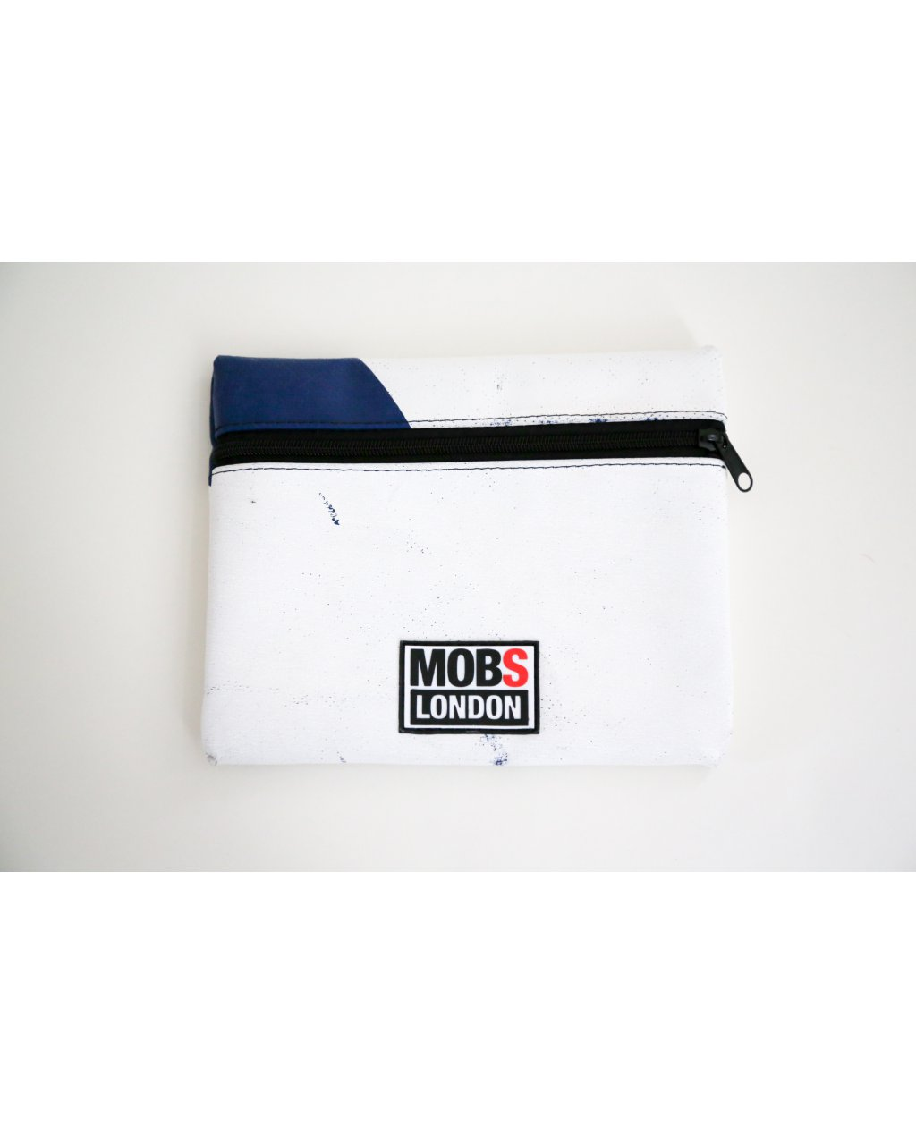White and Blue Truck Tarpaulin Pouch